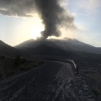 Volcano Eruption in Sakurajima